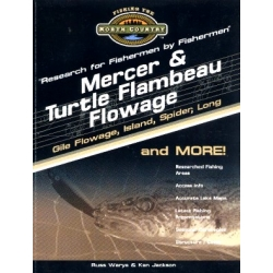 Mercer Wisconsin & Turtle Flambeau Flowage Region Lake Map Book