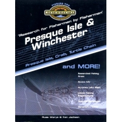Presque Isle & Winchester Wisconsin Region Lake Map Book