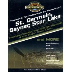 St. Germain, Sayner, Star Lake Region Lake Map Book